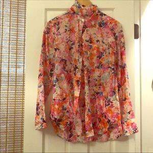 J Crew Button Up - NWT 🌸 🌺 🌸 🌺Size O